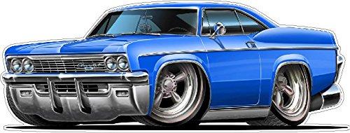 1965-66 Impala 396/427 Cartoon Car Wall Graphic 24