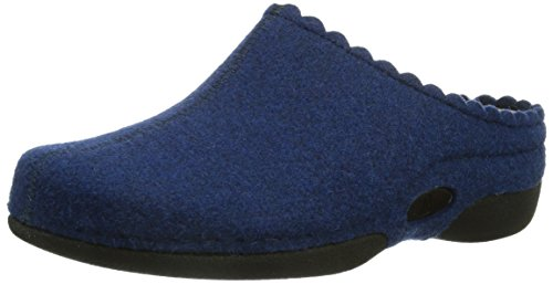 blau Pantofole Blu royalblau Donna Laurina Berkemann 312 HvZWfx