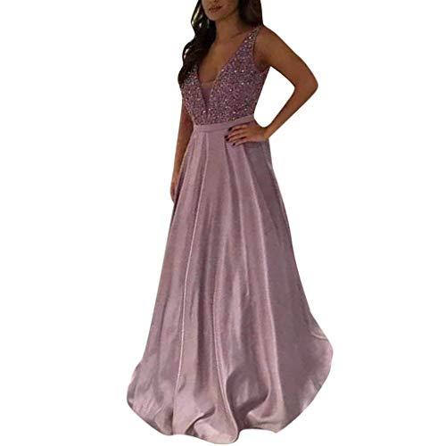 Rakkiss_Vintage Dress Sequin Prom Party Ball Gown Sexy Long Dress Series 1 Skirt ()
