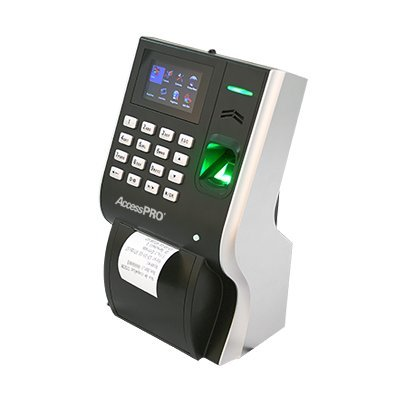 Integrated Biometric Fingerprint Reader - Bio-metric Reader for Time and Attendance, Integrated Printer