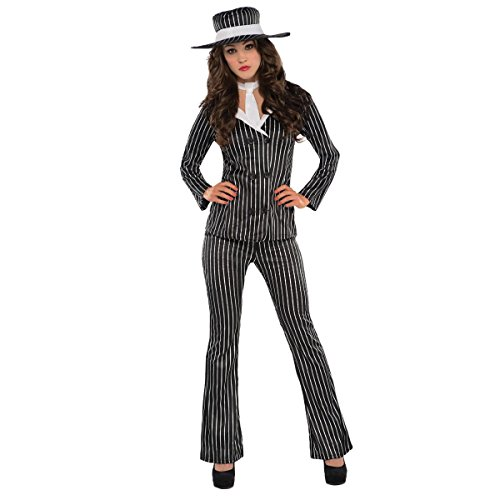 amscan Adult Mob Wife Costume - Small (2-4),