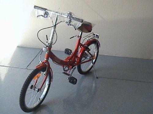 Folding Bike 20 Inchces Color RED