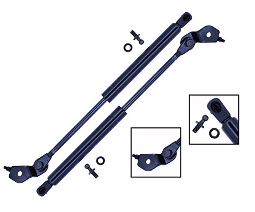 2 Pieces (SET) Tuff Support Hood Lift Supports 1991 To 1996 Toyota Camry / Lexus Es300 / 1995 To 1999 Toyota Avalon