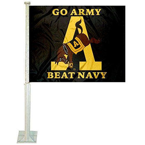 Army Black Knights Car and NCAA Auto Flag