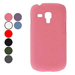 LZX Matt Finish Hard Case for Samsung Galaxy S3 mini I8190 (Assorted Colors) , Gray