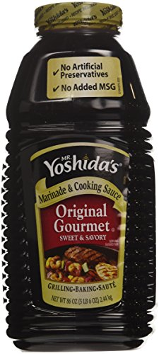 Yoshida Original Gourmet Sauce Large Bottle