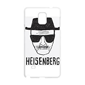 Samsung Galaxy Note 4 Cell Phone Case White Breaking Bad qtqi