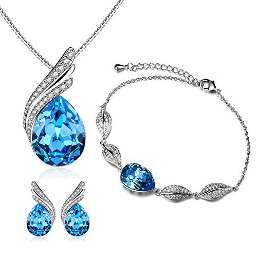 Menton Ezil Ocean Star Swarovski Crystal Necklace Pendant