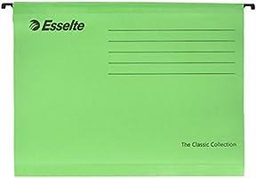 Esselte Klasik Askılı Dosya, A4, 25'Li Paket, Sekmeler Dahil