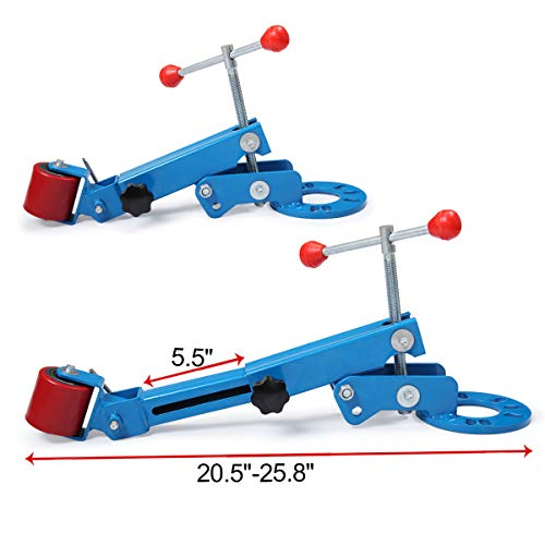 JAXPETY Heavy Duty Wheel Fender RollerExtending Reforming Roll Arch Wheel Flaring Former Professional Kit Blue