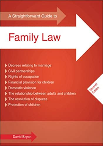 Book Straightforward Guide to Family Law, A