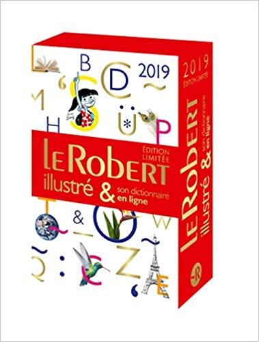 Coffret Le Robert illustré 2019 & son dictionnaire en ligne