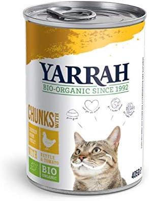Yarrah Cat Chicken Chunks Nettle Toma 405g