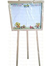 Wood Chalkboard with Wooden Legs - 1 meter height - Large