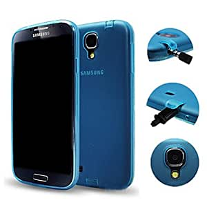 Simple Style Case with Dust Plug for Samsung Galaxy S4 I9500(Assorted Colors) --- COLOR:Black