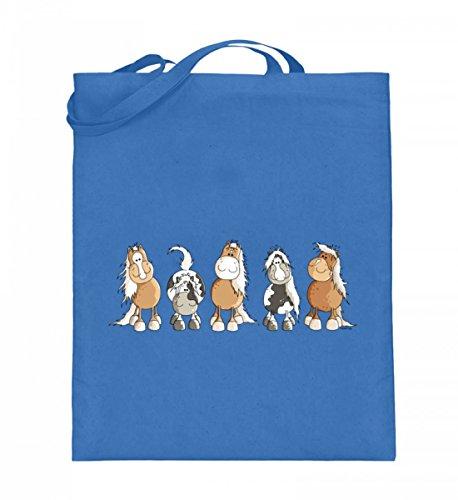 Shirtee 7TQA0RCY_XT003_38cm_42cm_5739 - Bolso de tela de algodón para mujer Azul azul 38cm-42cm Azul