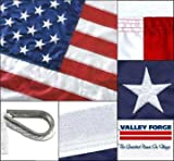 American Flag 8ft x 12ft Valley Forge Koralex II 2-Ply Sewn Polyester Review