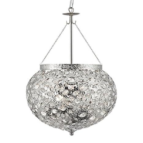 Searchlight lámpara colgante de techo estilo marroquí níquel ...