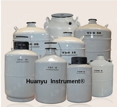 2L Cryogenic Container Liquid Nitrogen LN2 Tank with Straps and Carry Bag by Huanyu (Image #2)