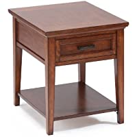 Magnussen Harbor Bay Wood Square End Table
