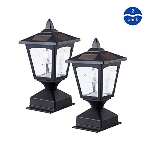 Outdoor Solar Lights For Columns in US - 3