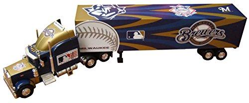 Milwaukee Brewers 2006 MLB Peterbilt Tractor Trailer (Deck Trailer Peterbilt Tractor Upper)