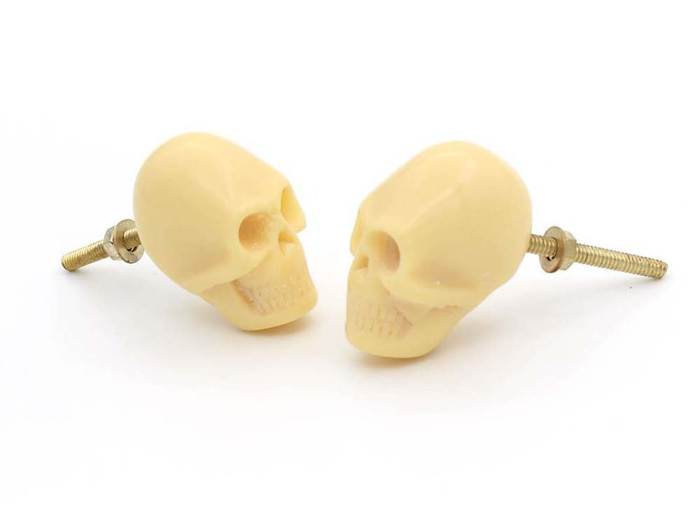 Skull Drawer,Cupboard,Handle Knob Lot of 12