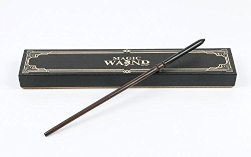 Draco Malfoy Wand (Cultured Customs Magical Wand Replica: Cosplay Prop Replica + Bonus Trading Card)
