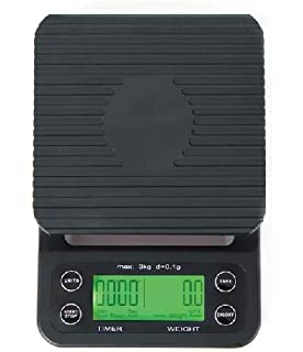 Portable Drip Coffee Scale With Timer, 3kg/6lb x 0.1g/0.2lb