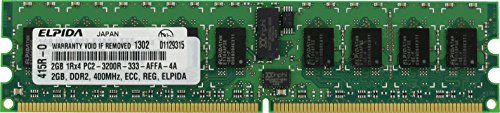 - 2GB DDR2 PC2-3200R ECC REGISTERED MEMORY FOR Intel Server Board SE7520BD2VD2