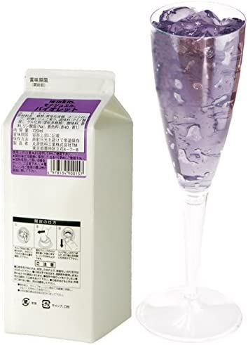 ハーダース モナジュエル バイオレット L-AC 720ml×12本入 ゼリー飲料 ゼリー飲料まとめ買い 業務用 ゼリー宝石 キラキラ インスタ映え 洋酒 ゼリー りんご アップル 果汁 バイオレットフィズ 紫