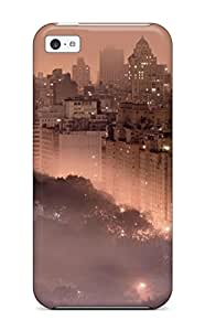 High-quality Durability Case For Iphone 4/4s(nyc City Park Usa Madison Square Area Panoramic Man Made City)