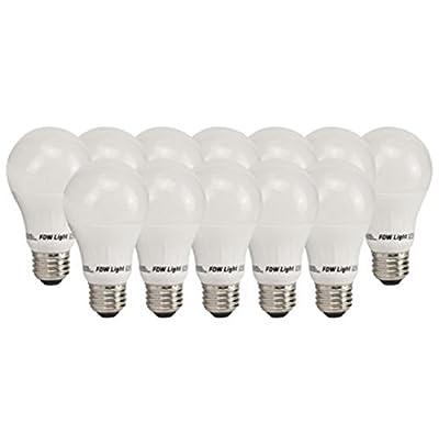 NEW 12 Pack 60W Equivalent SlimStyle A19 LED Light Bulb Soft White 3000K