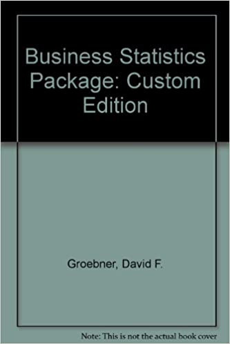 Business statistics package custom edition david f groebner business statistics package custom edition david f groebner patrick w shannon phillip c fry kent d smith 9780536915023 amazon books fandeluxe Image collections