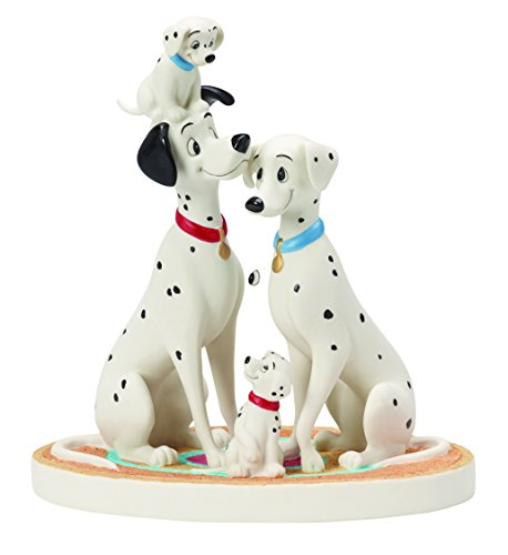 ney Showcase Collection, I Loved You Since The First Time I Spotted You Bisque Porcelain Figurine, 154702 (Disney Anniversary Figurine)
