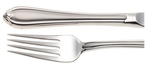 Gorham Melon Bud Frosted 5-Piece Stainless Steel Flatware Place Setting, Service for 1 - Melon Bud Stainless Flatware