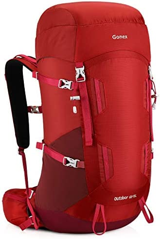 Gonex 45 5L Travel Outdoor Hiking Internal Frame Backpack for Backpacking Camping Climbing