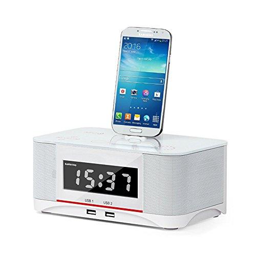innuoo Bluetooth Speaker NFC System Alarm Clock FM Radio ...