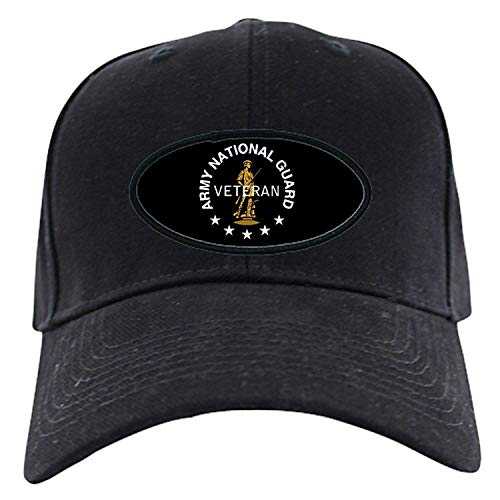 National Guard Veterans - Army National Guard Veteran Black Cap - Baseball Hat, Novelty Black Cap