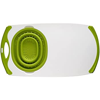 Amazon Com Over The Sink Strainer Board W Silicone