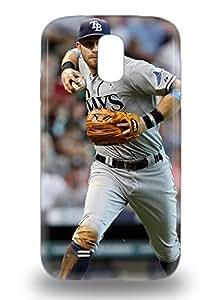 Galaxy Premium For SamSung Galaxy S3 Phone Case Cover 3D PC For SamSung Galaxy S3 Phone Case Cover MLB Tampa Bay Devil Ray Evan Longoria #3 PC 3D PC ( Custom Picture For SamSung Galaxy S3 Phone Case Cover )