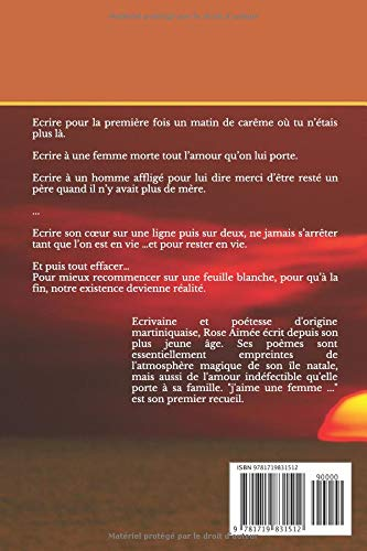 Jaime Une Femme Recueil De Poèmes Amazones Rose