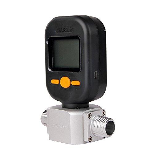 MF5712 200L/min digital gas air nitrogen oxygen mass flow meter flowmeter by FLOWMETERS