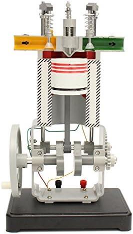 Queenwind ディーゼルエンジンモデル31009作業原理物理学実験内燃機関試験ツール