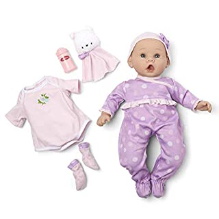 "Madame Alexander 16"" Lavender Amazon Exclusive Baby Doll, Essentials Light Skin"