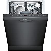 Bosch SHS5AVL6UC 24 Ascenta Energy Star Rated Dishwasher with 14 Place Settings Stainless Steel Tub 5 Wash Cycles Infolight RackMatic and 24/7 Overflow Protection System in