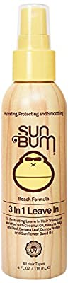Sun Bum Revitalizing 3 in 1 Leave In Hair Conditioner Spray