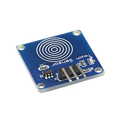 WMYCONGCONG 10 PCS TTP223B Digital Touch Capacitive Sensor Switch Module DIY for Arduino (10PCS)