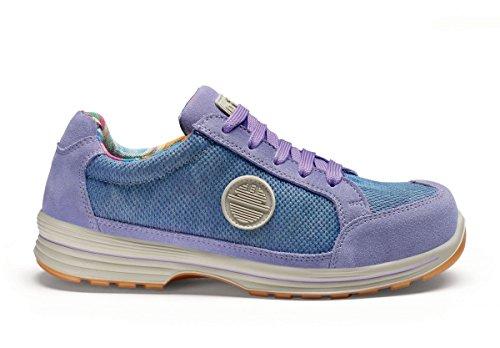 femmes Chaussures S1 Like travail Lady de glyzinien Meteor d halbschu sécurité les nbsp;P wgROR81Wq