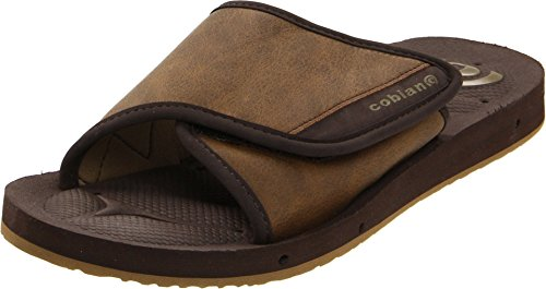 Cobian Mens Men's GTS Draino Slide Sandal, Chocolate, 14 M US